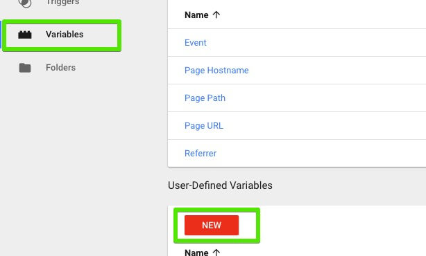 Google Tag Manager undefined